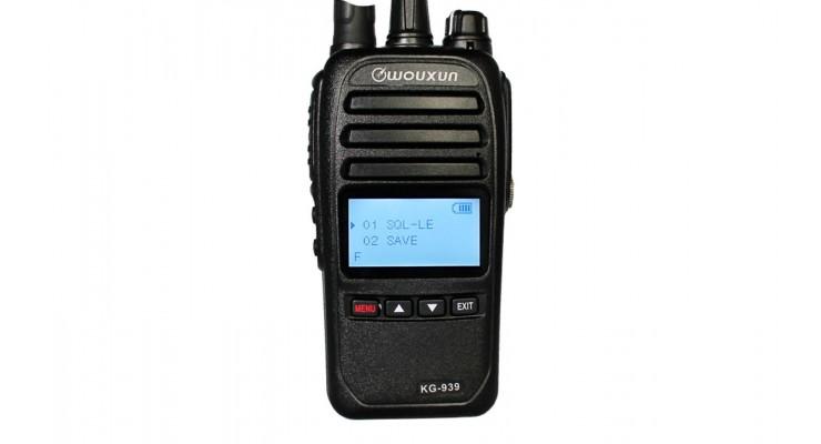 Радиостанция портативная Wouxun KG-939